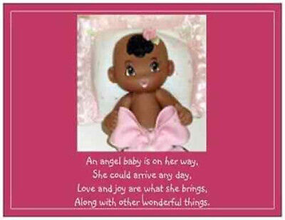 African American Baby Shower - 20 African American Baby Shower INVITATIONS Post Cards