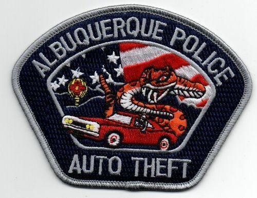NEW MEXICO NM ALBUQUERQUE POLICE AUTO THEFT NICE PATCH SHERIFF