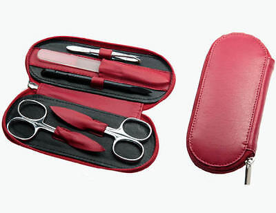 Sonnenschein Exclusive Leather Manicure Set (Germany)