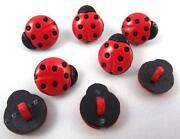 Ladybird Buttons