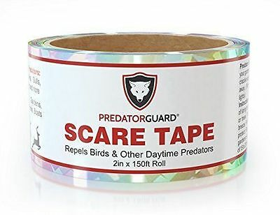 Guard Scare Tape Bird Animals Predator Farmer Garden Outdoor Easy Install NEW