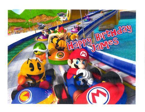 Mario Kart Cake Topper | eBay
