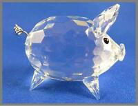 Swarovski Med. Crystal Pig in original box