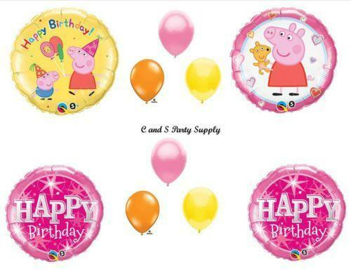 Peppa pig birthday greeting cards amp party supply ebay