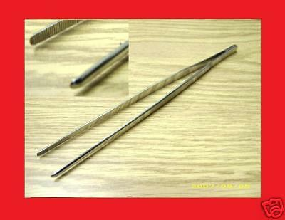 10 Thumb Forceps Tweezers Serr 10 Surgical Veterinary