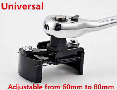 1Pcs 60 80mm Oil Filter Wrench Cup 1/2Housing Remover Kit