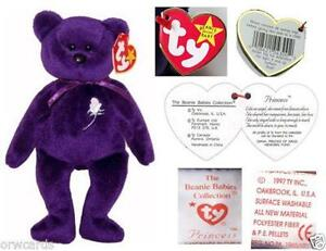1997 Princess Diana Beanie Baby 99321cd288