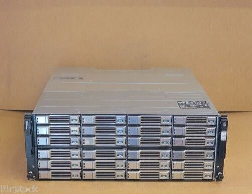 Dell EqualLogic PS6100e Virtualized iSCSI SAN Storage Array 24 x 3TB SAS = 72TB