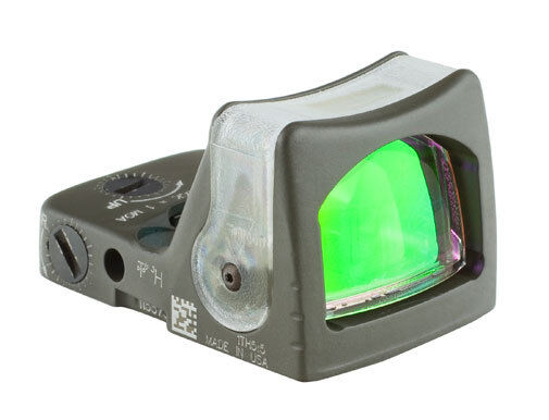 Trijicon Rmr Dual Illuminated Odg Green Dot Sight Rm05-c-700209