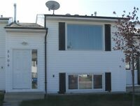 3 bedroom townhouse. Wetaskiwin, 45 mins south of Edmonton