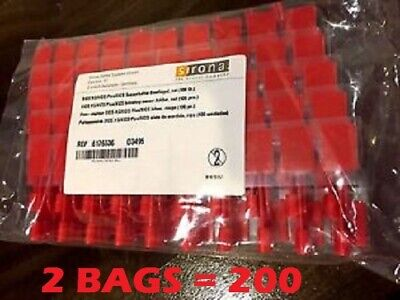 200 Sirona Xios Plus Intraoral Sensor Holder Tabs Red Bitewing Posterior 6176536