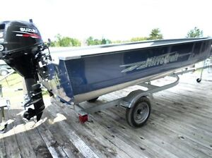 Super Wide 16Ft Aluminum Boat, Motor, Trailer Package at NewStar