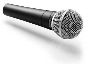 SURE SM58 MICROPHONE WITH XLR CABLE