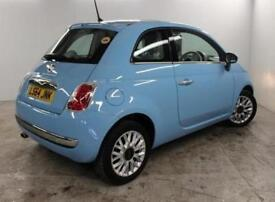 2014 Fiat 500 1.2 Lounge 3 door [Start Stop] Petrol Hatchback