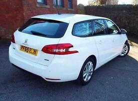 2015 Peugeot 308 SW 1.6 BlueHDi 100 Active 5 door Diesel Estate