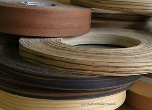 Iron On Edging Pre Glued Real Wood Veneer Edge Banding