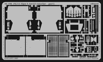 Eduard Accessories 35498 - 1:35 Sd.Kfz 181 Tiger I Detailbausatz Innen Frühe Ver