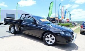 2007 Ford Falcon BF Mk II XL Super Cab Black 4 Speed Automatic Utility Woodridge Logan Area Preview