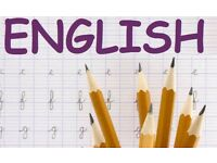 English Tutor - Available in person or online
