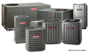 BIG BLOWOUT SALE - FURNACE AND AC $1000