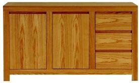 Zone 'Loft Collection' Large Sideboard - Modern Retro Scandinavian Nordic