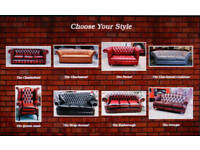 Chesterfield Sofa Chair NEW. Many Choices IN STOCK