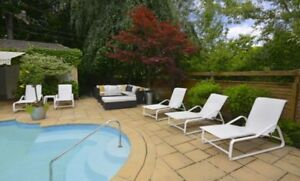 5 Reclining Outdoor Loungers - Free!