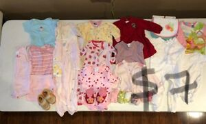 SELLING NAME BRAND GIRL LOTS 6-12 MONTHS