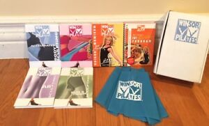 PILATES DVD SET: 5 DVDs + MORE (8 ITEMS INCLUDED)