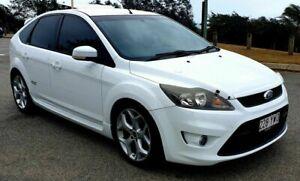 2010 Ford Focus LV XR5 Turbo White Manual Hatchback Mackay Mackay City Preview