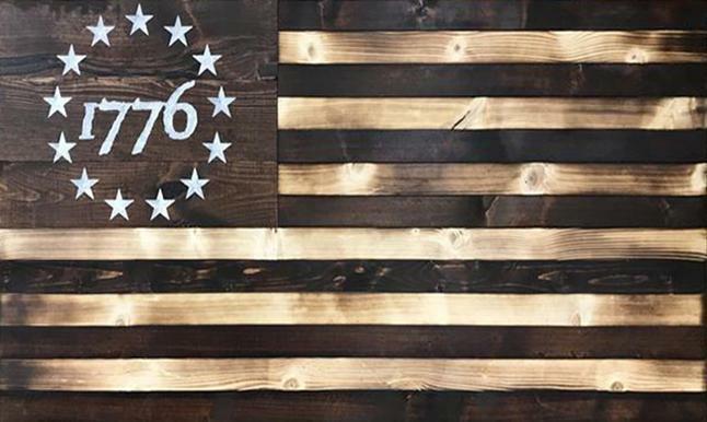 1776 Large Concealment Flag