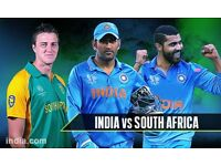 India vs South Africa cricket match GOLD ticket - cheapest ticket