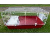 rabbit, guinea pig or small animal cage