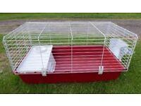 Ferplast Guinea Pig/Rabbit Cage 100