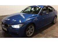 Blue BMW 335d M SPORT Auto Leather Nav FROM £88 PER WEEK!