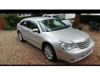 2008 Chrysler Sebring Limited edition 2.0 ltr petrol in silver