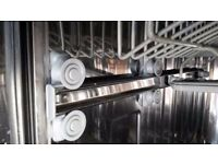 Dishwasher Guide Runners (for top plate rack) - Hoover, model Heds 968
