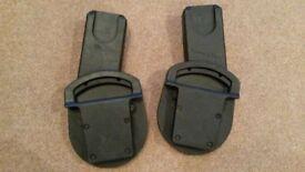 Car Seat Adaptors (Urbo/Sola/Zoom)- Maxi-Cosi Pebble, CabrioFix / BeSafe. Cybex Aton, Aton Q & Cloud