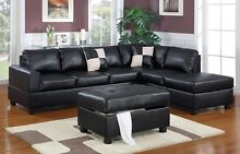 BRAND NEW BONDED LEATHER 5 SEAT SOFA WITH CHAISE Bibra Lake Cockburn Area Preview