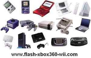 super nintendo, game cube, GBA,64, Wii ,Xbox 360, playstation 2