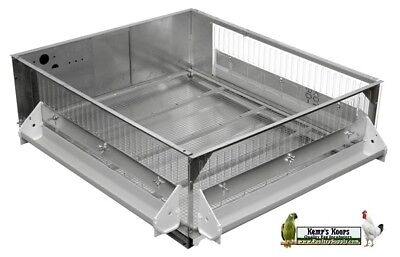 Used, Single Grow Off Pen for Poultry Chickens Quail MADE BY GQF model 0701 for sale  Savannah