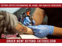 Tattoos Artists Recommends Dr. Numb, For Painless Procedure