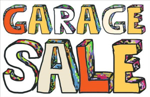 Yard sale - 1980 and 1990 Parkwood Terrace Sunday!