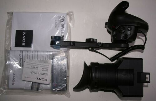 Sony FS7 Smart Grip and Viewfinder Hood