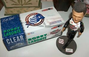 NASCAR Bobby Labonte Bobblehead and 02 Grand Prix Clear Ltd Ed London Ontario image 3