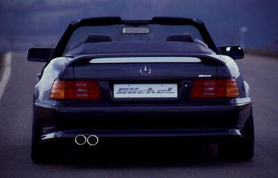 Mercedes SL R129 Premium Sportauspuff 2flutig 2xli 80mm Auspuff VA a. AMG C