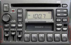 VOLVO 850, 960, S90, V90 OEM AM/FM CD/ Tape Radio Premium Sound