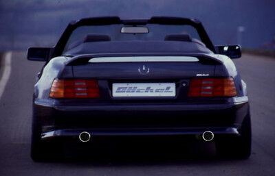 Mercedes Benz SL R129 Sport Edition  Sportauspuff  Endschalldämpfer VA Duplex A