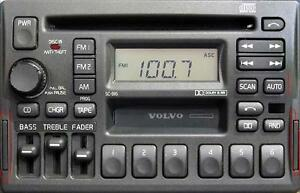 VOLVO 850, 960, S90, V90 OEM AM/FM Radio CD/ Tape Premium Sound