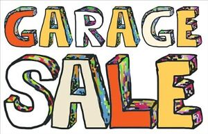 Garage Sale - Household items and Clothes